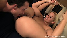 Tanner Cruz gets her ass and pussy licked by Billy Glide before he fucks her